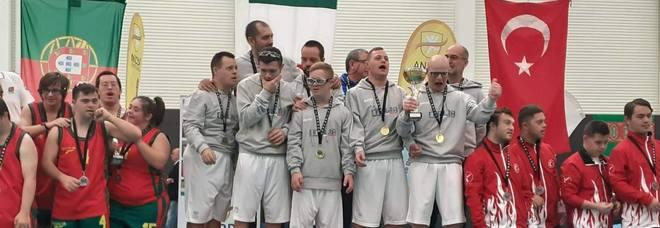 Basket, la nazionale italiana di atleti con sindrome di Down campione del Mondo per la seconda volta consecutiva