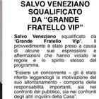 Salvo Veneziano espulso dal Grande Fratello Vip 2020: frasi sessiste nella Casa
