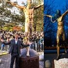 Ibrahimovic, vandalizzati la statua e l'ingresso della casa: ecco cosa è successo