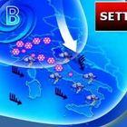 Meteo, Italia nella morsa del maltempo: in settimana vento, neve e nubifragi