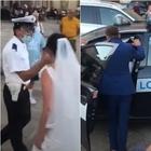 Coppia di sposi multata nel giorno del matrimonio: vigile urbano contestato a Lecce