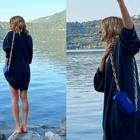 Alessia Marcuzzi, la foto che spiazza tutti: «Ecco le mie gambe storte. Mio marito dice che...»