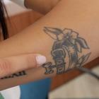 Tutti i tatuaggi nascosti della più bella d'Italia