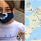 Covid, non può prendere l'aereo: Romeo, 10 anni, a piedi da Palermo a Londra per rivedere la nonna