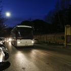 Coronavirus, dimessi 20 cinesi dallo Spallanzani di Roma (foto Andrea Giannetti/Ag.Toiati)