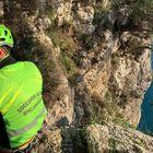 Gaeta, escursionista romano ha un malore sulla montagna spaccata, salvato dal soccorso alpino con l'elicottero