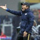 Conte: «Inter davanti alla Juve? Lavoriamo per dare fastidio»